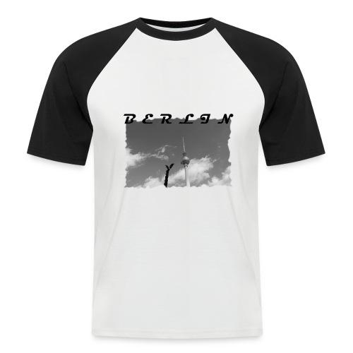 BERLIN #1 - Männer Baseball-T-Shirt