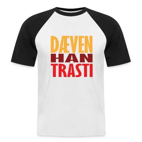 Dæven Han Trasti - Kortermet baseball skjorte for menn
