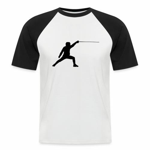 Fencer - Männer Baseball-T-Shirt