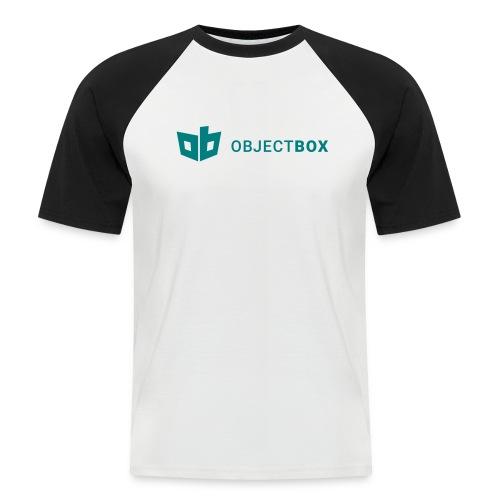 ObjectBox Green - Männer Baseball-T-Shirt