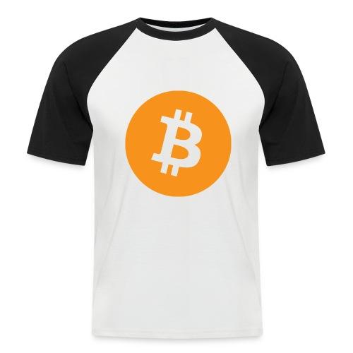 Bitcoin boom - Maglia da baseball a manica corta da uomo