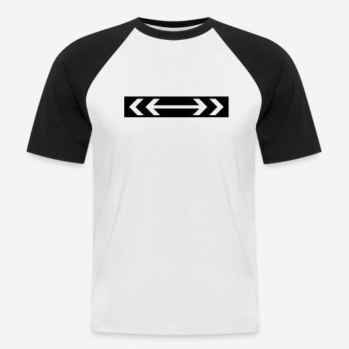 Design2 - Männer Baseball-T-Shirt