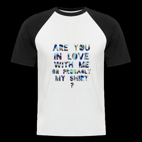 RU in LUV - Men's Baseball T-Shirt