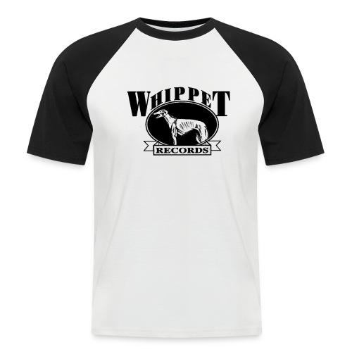 whippet logo - Men's Baseball T-Shirt