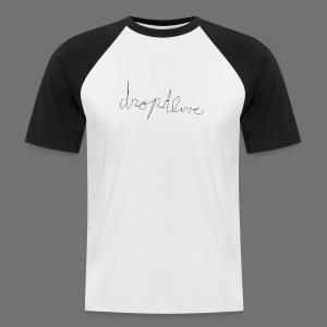 DropAlive - Mannen baseballshirt korte mouw