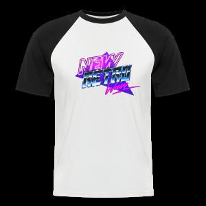 New Retro Wave - Mannen baseballshirt korte mouw