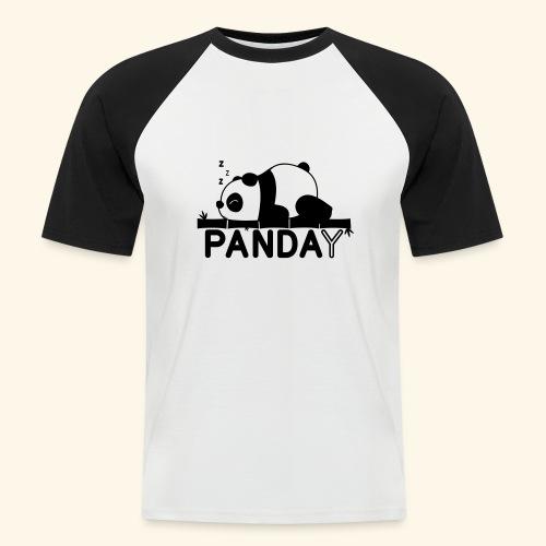Panday print design - Kortærmet herre-baseballshirt