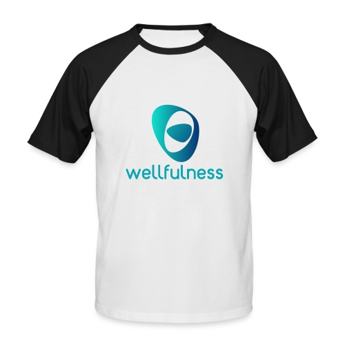 Wellfulness Sport Clasic - Camiseta béisbol manga corta hombre