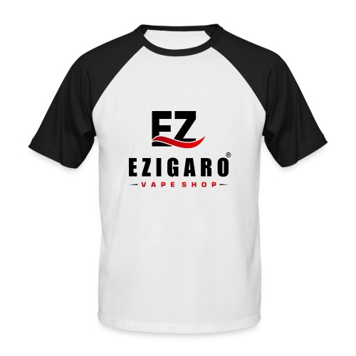 EZIGARO Vapeshop - Männer Baseball-T-Shirt