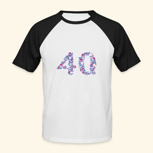 pinks - Männer Baseball-T-Shirt