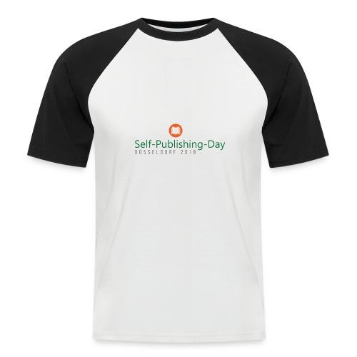 Self-Publishing-Day Düsseldorf 2018 - Männer Baseball-T-Shirt
