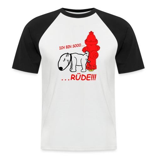 Rüden-Verhalten - Männer Baseball-T-Shirt