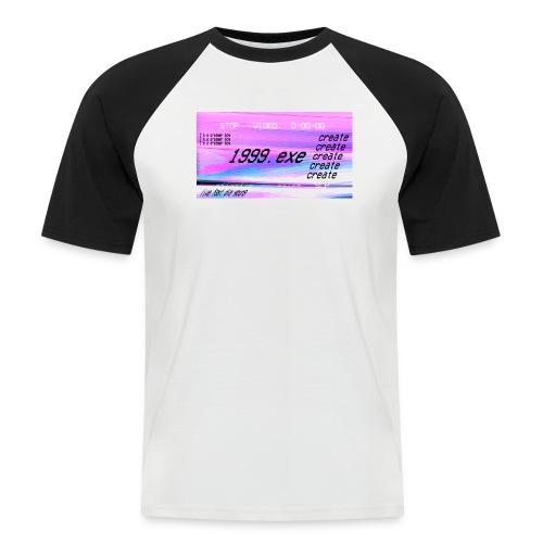 1999.exe - Camiseta béisbol manga corta hombre
