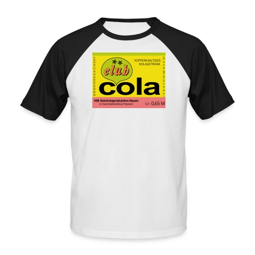 VEB Getränkeproduktion Nauen - Männer Baseball-T-Shirt