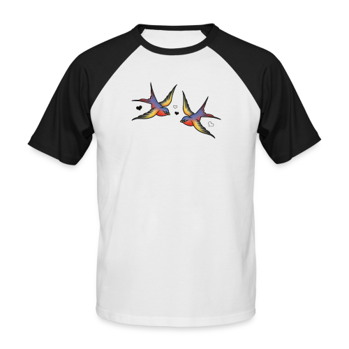 Classic Swallows - Men's Baseball T-Shirt