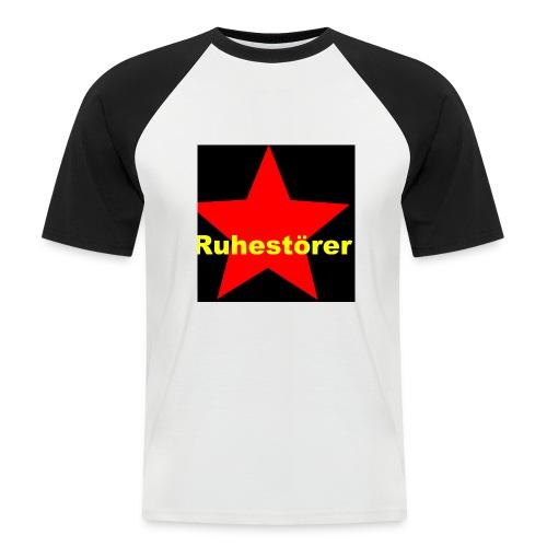 Ruhestörer - Männer Baseball-T-Shirt