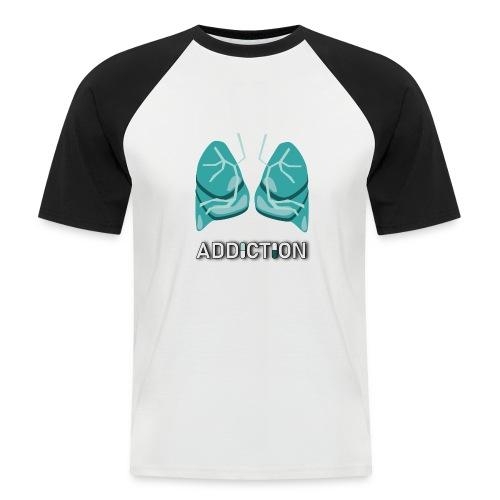 Addiction - Lungs - Kortärmad basebolltröja herr