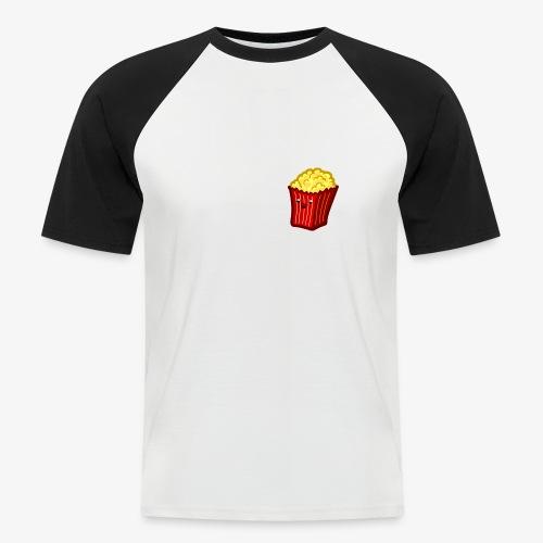 Popcorn Derp 2 - Männer Baseball-T-Shirt