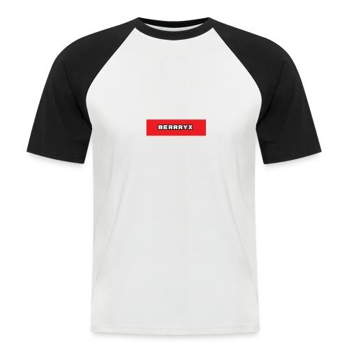 box logo - Kortermet baseball skjorte for menn