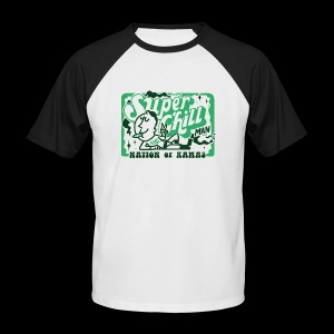 SUPER CHILL - T-shirt baseball manches courtes Homme