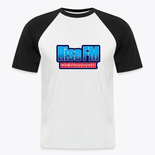 Rise FM Denmark Text Only Logo - Kortærmet herre-baseballshirt
