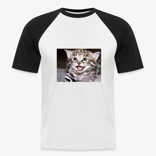 Cute Cat - Men's Baseball T-Shirt