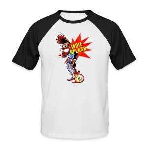 Indie Splash - Männer Baseball-T-Shirt