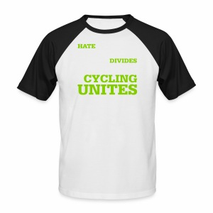 Cycling unites - Männer Baseball-T-Shirt