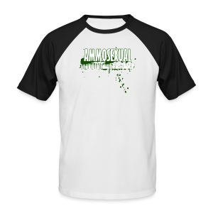 Ammosexual Multi-Caliber (white) - Männer Baseball-T-Shirt