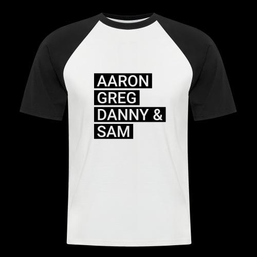 agd&s_bold - Männer Baseball-T-Shirt