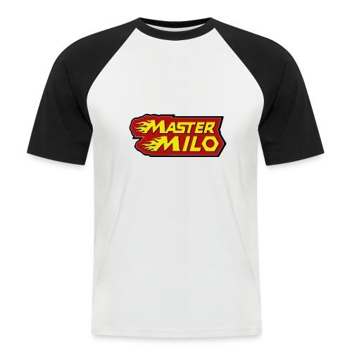 MasterMilo - Mannen baseballshirt korte mouw