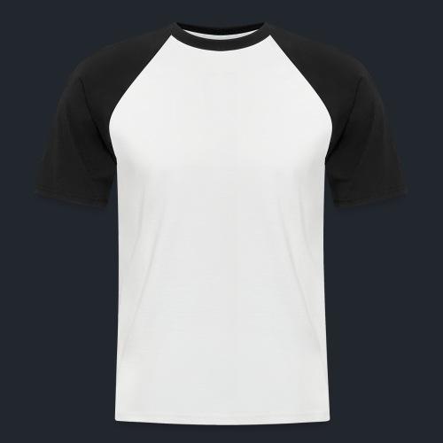 Logo Woodyboard Blanc - T-shirt baseball manches courtes Homme