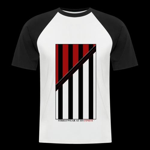 Streetwear Design - Männer Baseball-T-Shirt