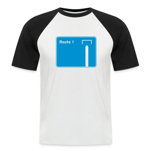 Route 1 - Men's Baseball T-Shirt