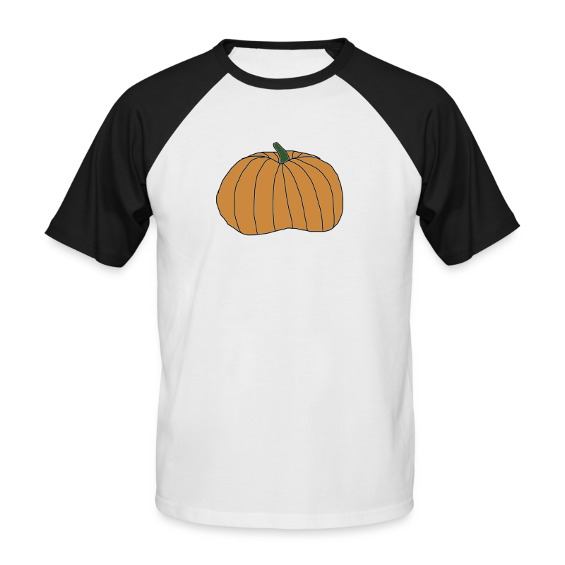 Gresskar Halloween Collection - Kortermet baseball skjorte for menn