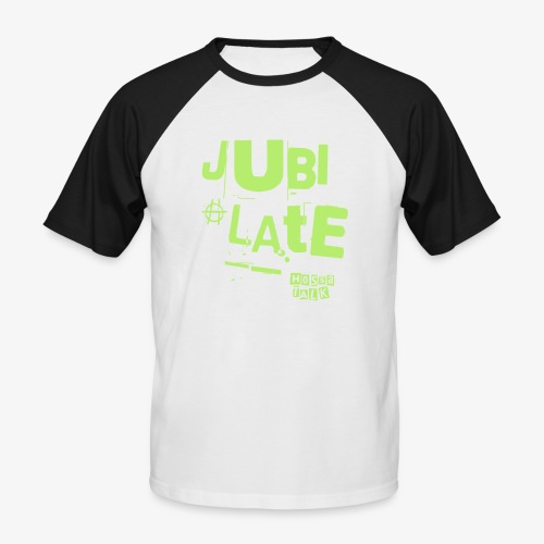 Jubilate-Hoodie - Männer Baseball-T-Shirt