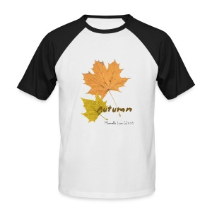 Streetworker art by Marcello Luce - autumn 2018 - Männer Baseball-T-Shirt