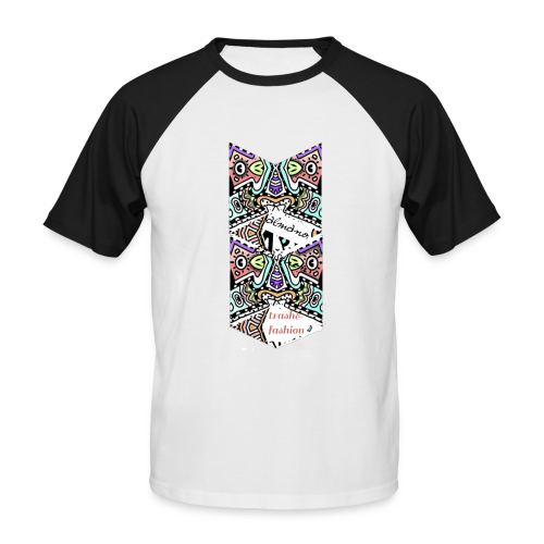 trash & fashion - Men's Baseball T-Shirt