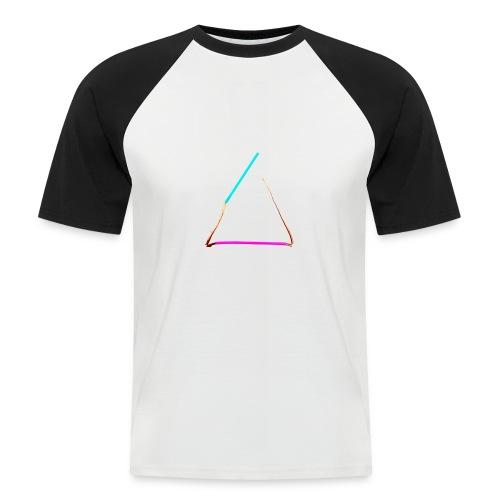 3eck - Dreieck - triangle - Männer Baseball-T-Shirt