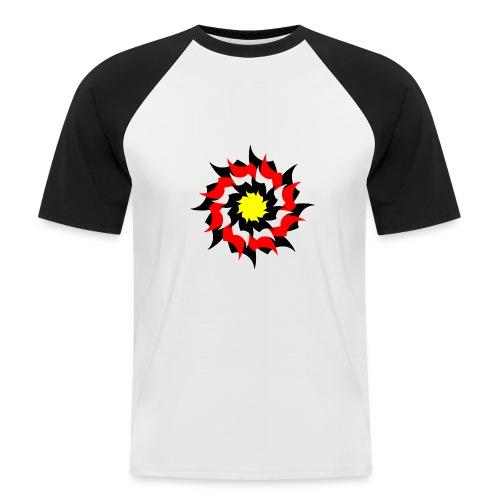 blume - Männer Baseball-T-Shirt