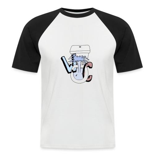 WekelijkseContent Sweater - Mannen baseballshirt korte mouw