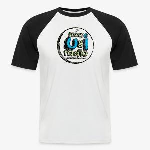 U & I Logo - Men's Baseball T-Shirt