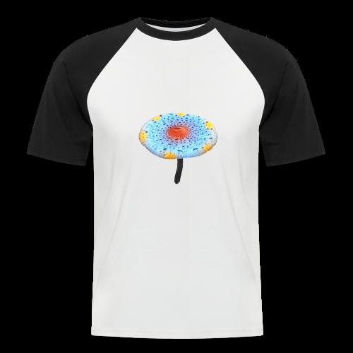Bunter Pilz Tocawi - Männer Baseball-T-Shirt