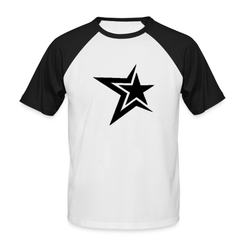 PurpleMoney Half Star Logo - Men's Baseball T-Shirt
