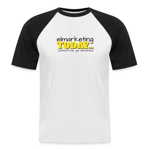 LOGOTIPO - Camiseta béisbol manga corta hombre