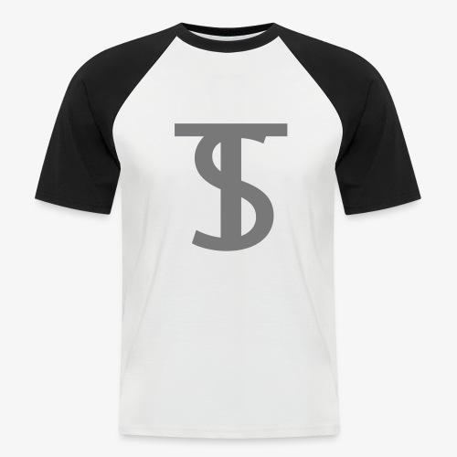 Shirt met logo - Mannen baseballshirt korte mouw