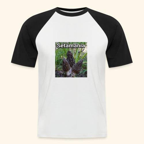 Colmenillas setamania - Camiseta béisbol manga corta hombre