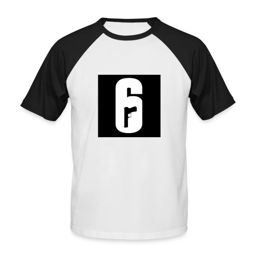 Six61 Officcial - Männer Baseball-T-Shirt