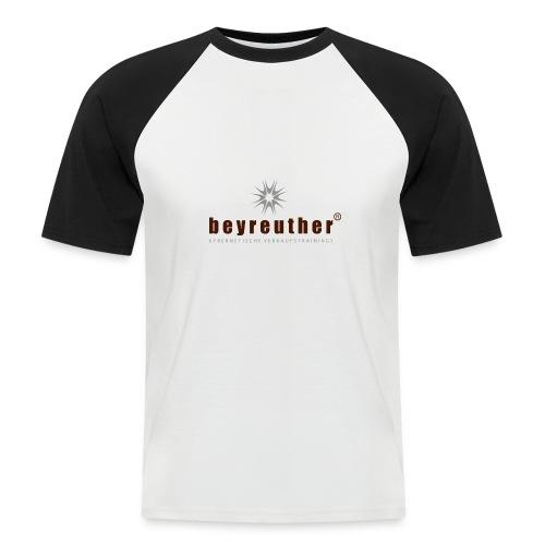 Logo beyreuther verkaufstrainer - Männer Baseball-T-Shirt