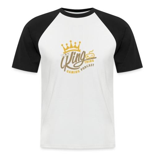 That King Thing Logo (dark) - Men's Baseball T-Shirt